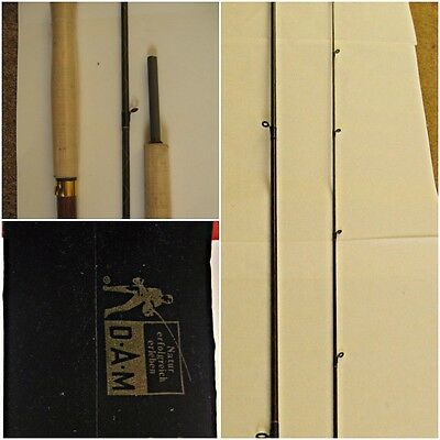 10 ft DAM 7/8 X Kev Carbon Fly Rod 2 Piece For Salmon and Trout Fishing