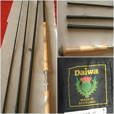 *NEW* Daiwa Scottish Made 13ft 6' 4 Piece Fly Rod LM-XF 13609-4  Lochmor 9AFT