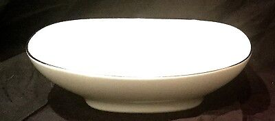 NORITAKE china FREMONT 6127 pattern OVAL VEGETABLE Serving BOWL 9-7/8""