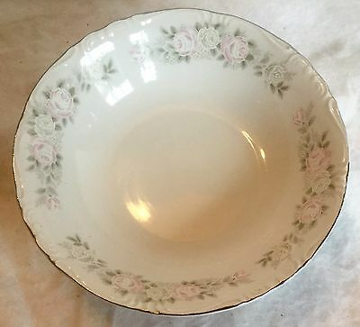 "SHEFFIELD Classic 501 9.5"" Vegetable SERVING BOWL JAPAN Fine China w/ROSES XLNT!"
