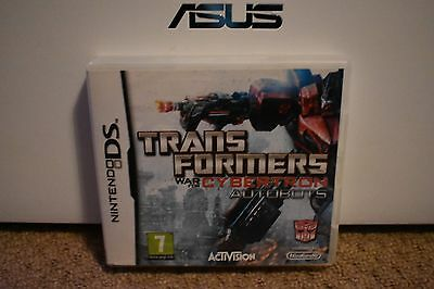 *BOX & MANUAL ONLY* TRANSFORMERS WAR FOR CYBERTRON AUTOBOTS - NINTENDO DS / DSi