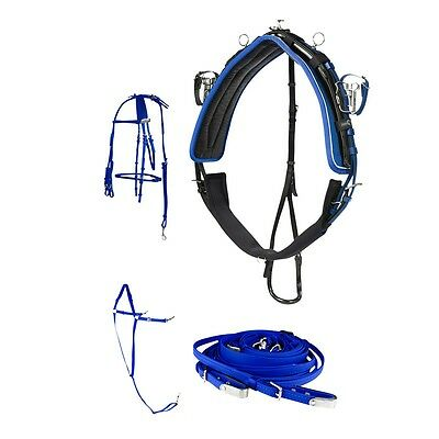 Finn Tack Quick Hitch Pro Racing Harness FREE Inner Bridle