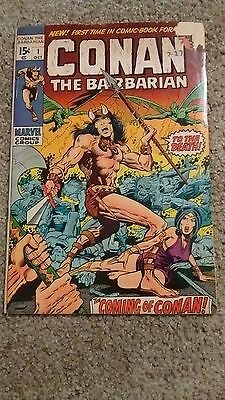 Marvel: Conan The Barbarian #1, 1St Appearance Conan/king Kull, 1970 Vg To Vg+