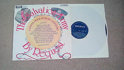 The Salvation Army By Request LP vinyl record, 24 tracks, West Yorkshire