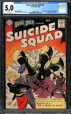 Brave and the Bold #25 CGC 5.0