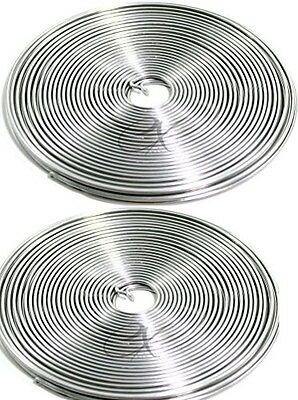 Jack Richeson Aluminum Armature Wire, 1/16-Inch by 32-Feet, 2 Pack