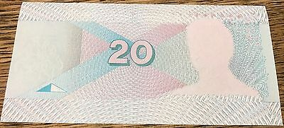 SUPER RARE Lithuania 20 Litu 1993 color Trial Specimen banknote Litauen