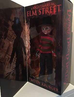 Living Dead Dolls Freddy Krueger Boxed Rare Mezco Toy 2010 Mint Condition.