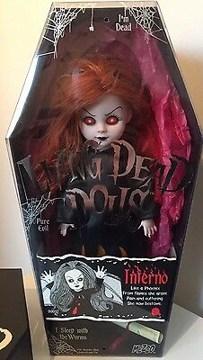 Living Dead Dolls Series 4 Inferno Boxed Rare Mezco Toy.