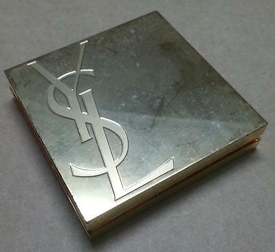 Rare Vintage Obsolete YSL Compact Eyeshadow Powder Cosmetic Collectible (A1221)