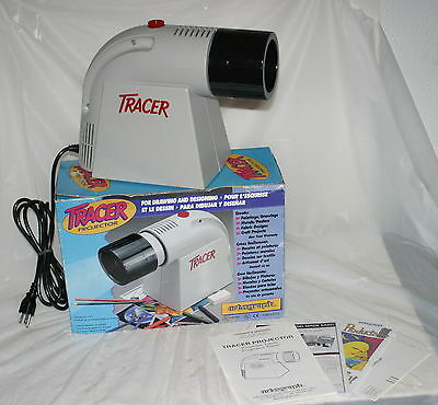 Artograph Tracer 100W Image Photo Art Enlarger / Projector in box - VG Condition