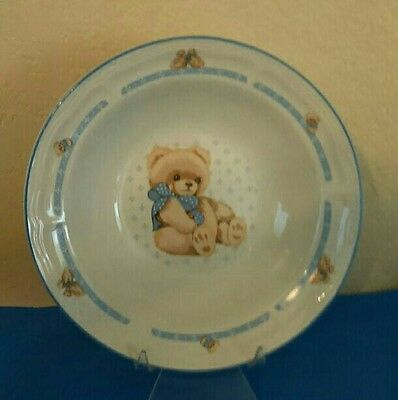 "Tienshan Country Bear Vegetable Serving Bowl 9"" Diameter"