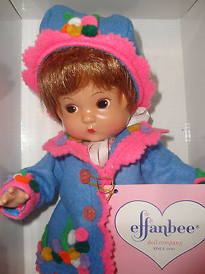 Effanbee Doll ''flapper'' 13''tall Mint In Box Limited Edition