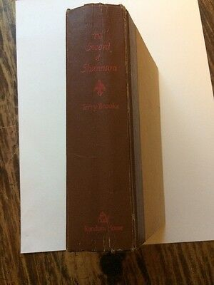 The Sword of Shannara by Terry Brooks Vintage 1977 HC book