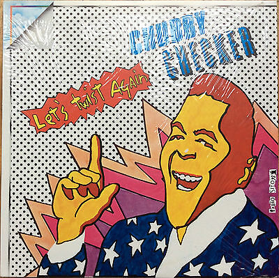 Chubby Checker - Let's Twist Again - 198? Italy Vinyl Lp - Orizzonte - Mint