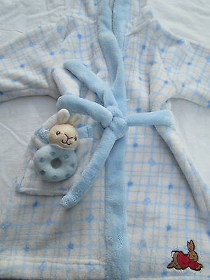 Baby boys Bunnykins dressing gown by Royal Doulton Size 1