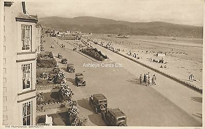 BARMOUTH, The Promenade Merionethshire Early Postcard