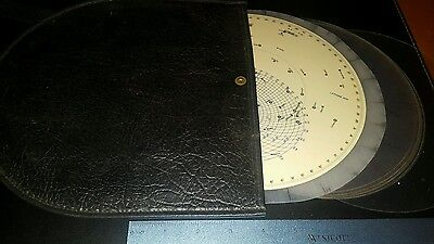 VINTAGE SIMILUX Star Finder and Identifier Kit in Case Model #2102-D 11 pieces!