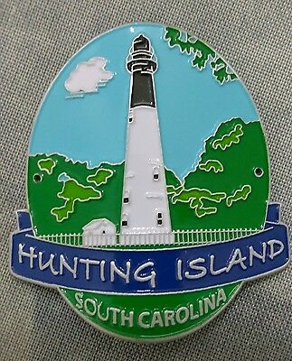 Hunting Island State Park South Carolina Hiking Staff Stick Medallion Souvenir