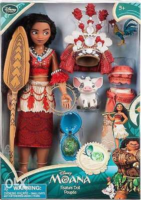 Disney Moana Singing Feature Doll Set 11'' + Clothing & Accessories. Brand New