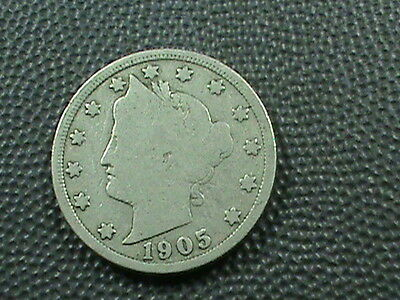 UNITED STATES   5 cents   1905