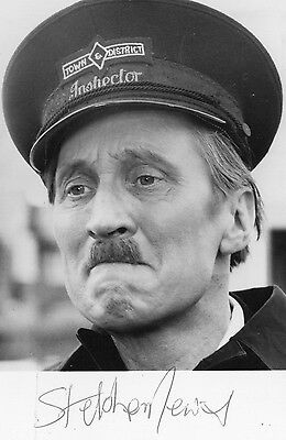 Authentic Signed Stephen Lewis On The Buses Blakey.6X4 Photo..real Signature Coa