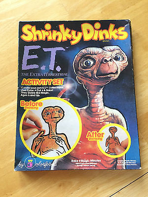 NIB 1982 E.T. Colorform Shrinky Dinks Extra-Terrestrial New in Box Vintage