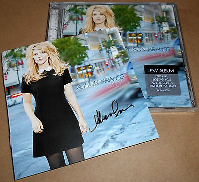 HAND-SIGNED Alison Krauss Windy City CD Autograph Autographed NEW Union Station