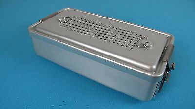 "Case Medical Universal Sterilization Container W. Tray 12"" x 6""x 3"""