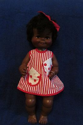 Vintage Black Reliable Doll - Canadian Made