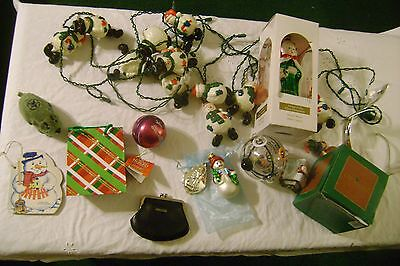 Vintage Junk Drawer-CHRISTMAS--Lot-LARGE Box Full of GREAT ITEMS-LOT # 1003