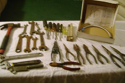 TOOLS-BIG LOT=Vintage Junk Drawer Lot-LARGE Box Full of ITEMS-LOT # 339