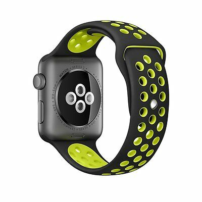 Apple Watch New Series 2 &1 Band Soft Silicone Sport Replacement Strap 42mm