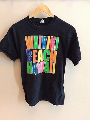Vintage Waikiki Beach, Hawaii shirt - MEDIUM