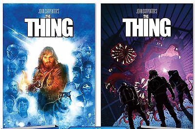 The Thing 1982 Shout Scream Factory Deluxe Limited Edition 2 Posters SOLD OUT