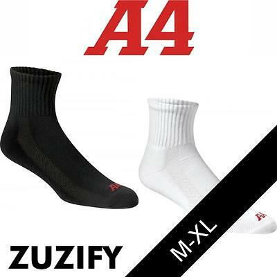 A4 Performance Mid Crew Socks. S8003
