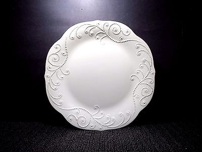 """Lenox Dinner Plate 11"""" FRENCH PERLE WHITE (American by Design) Bone China"""
