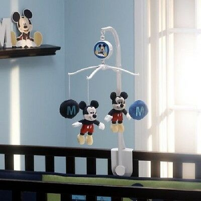 Disney Baby M Is For Mickey  Mouse Musical Mobile - no box