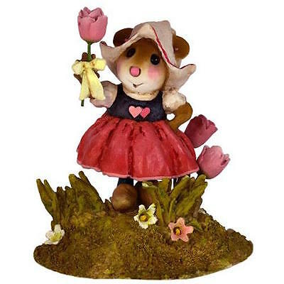 A TULIP FOR YOU by Wee Forest Folk, WFF# M-566, Pink