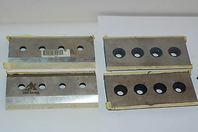 vermeer chipper blades 4 bolt 8 15/1 6inch x 4.5 inch nos four free shipping