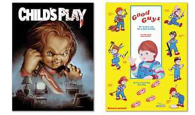 Child's Play 1988 Shout Scream Factory Deluxe Limited Edition 2 Posters SOLD OUT