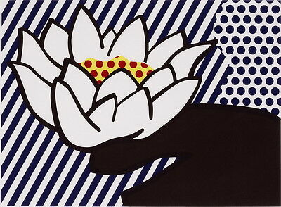 Roy Lichtenstein Untitled Giclee Art Paper Print Paintings Poster Reproduction