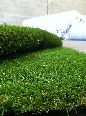 NEW Synthetic Artificial Grass Turf 40 sqm Roll - 35 mm