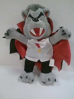 Count Dracubear - Meanie Babies: Grisly Grizzlies Halloween 1999 Plush Doll