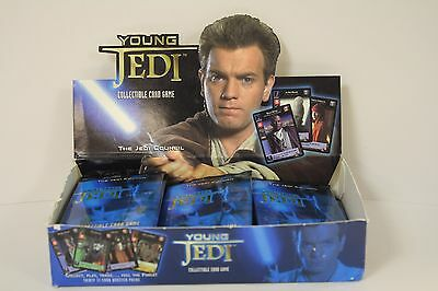 Star Wars - Young Jedi CCG: THE JEDI COUNCIL Booster Pack - Decipher - SEALED