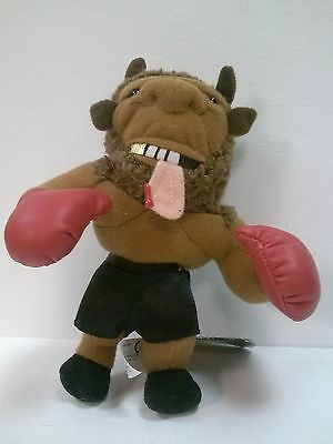 Mike Bison (Mike Tyson) Meanie Babies Infamous Series Plush Doll