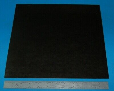 "Garolite Sheet, Grade XX, .032"" (.81mm), 12x12"" (Black)"