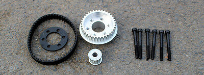 DIY electric skateboard parts pulleys and belt kit for 83/90/97MM wheels