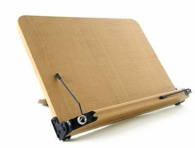 NICE Book Stand O101 Portable Wooden Reading Holder Desk bookstand Made In Korea