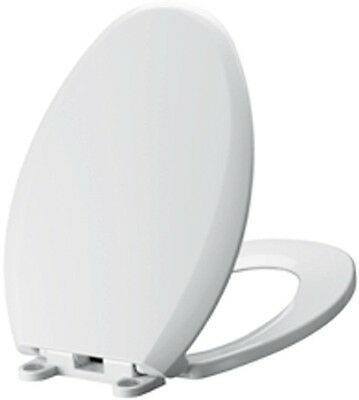 American Standard Cadet Slow Close EverClean Elongated Front Toilet Seat White